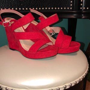 Red Women's 7.5 High heels